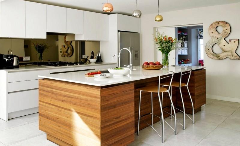 Стойка-островок на кухне