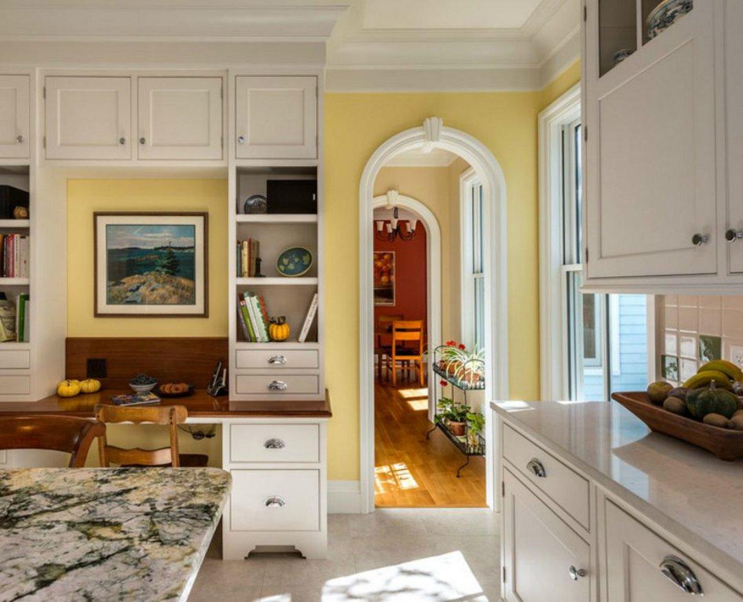 Арка в небольшую кухню