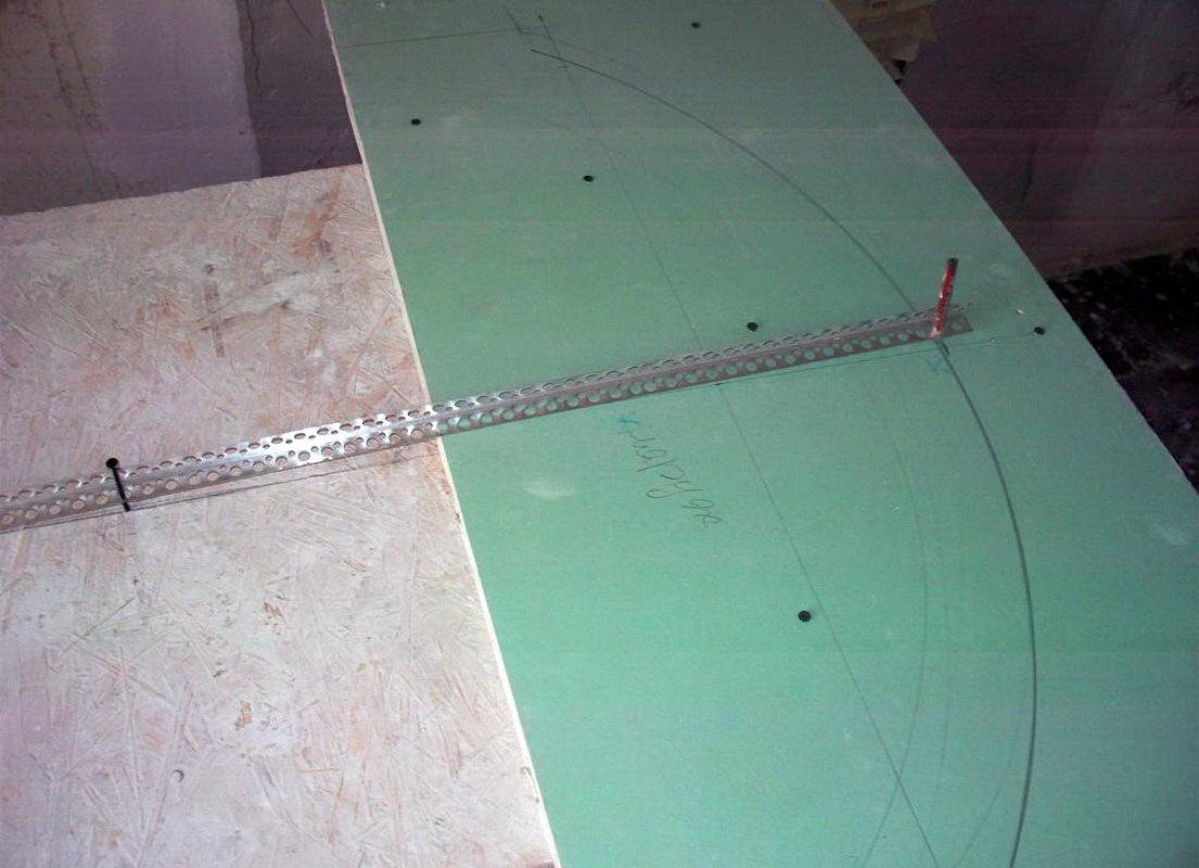 Шаблон для изготовления арки