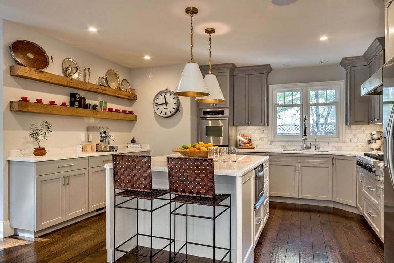 Стиль эклетика в отделке кухни