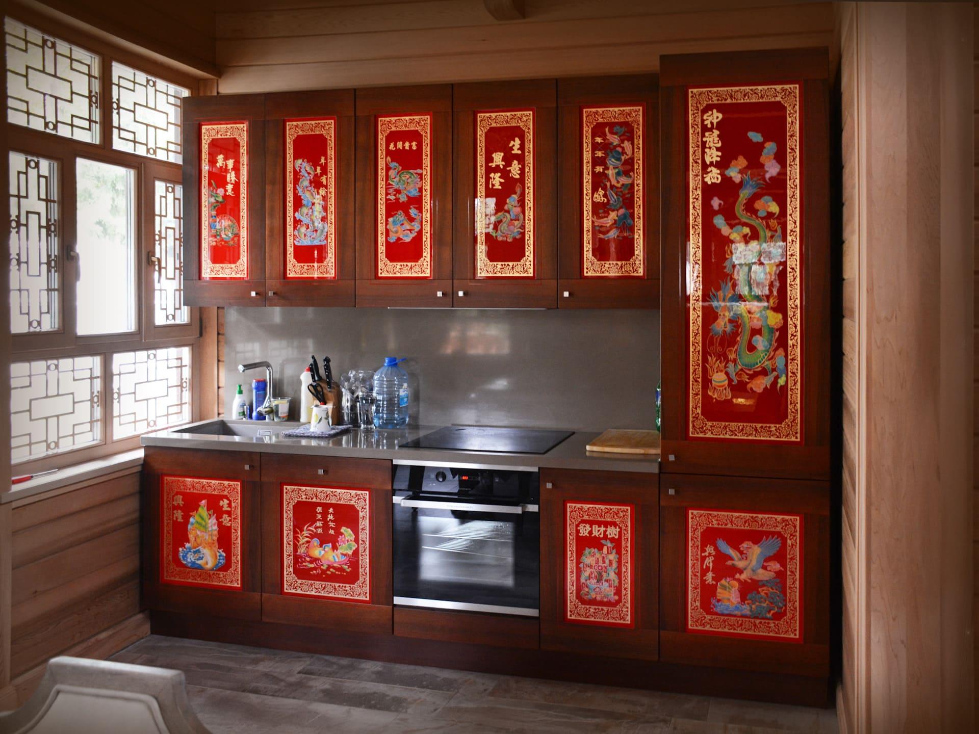 Стили кухни в интерьере: китайский стиль, созданный из акцентов