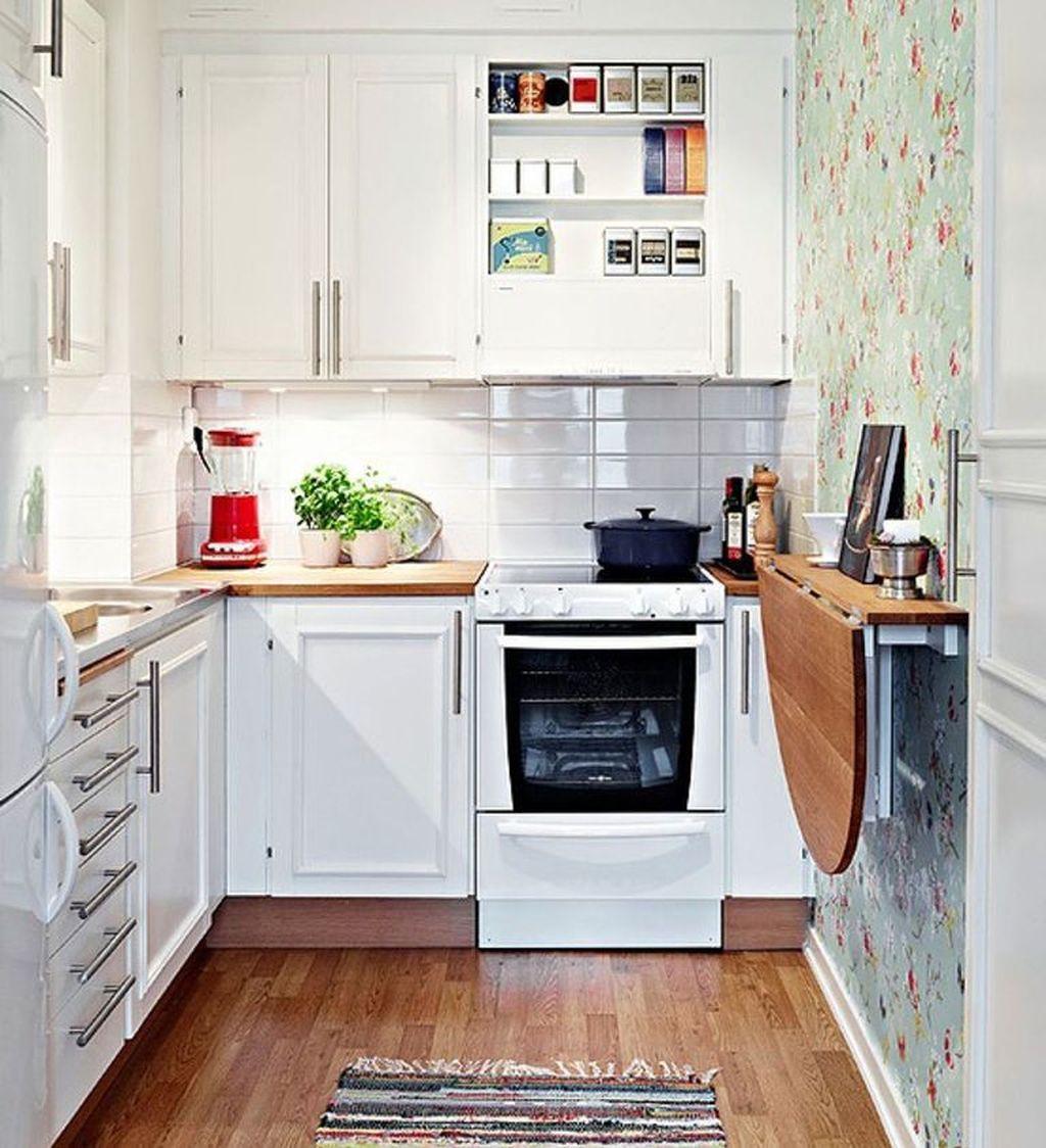Складной стол узкая кухня