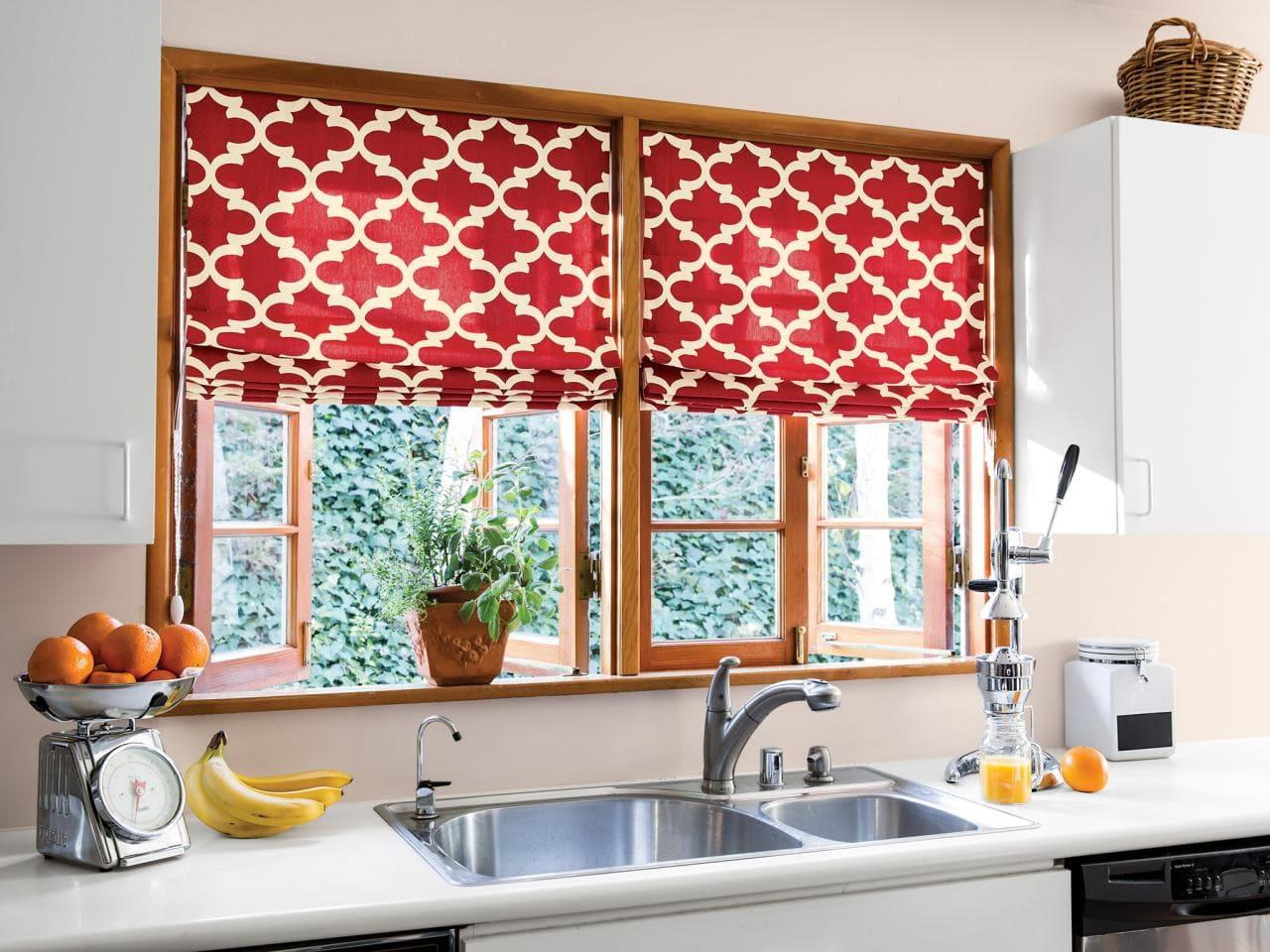 Римкие шторы для кухни