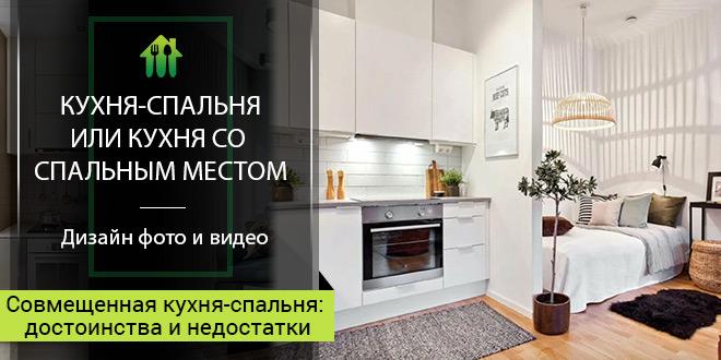 Кухня-спальня