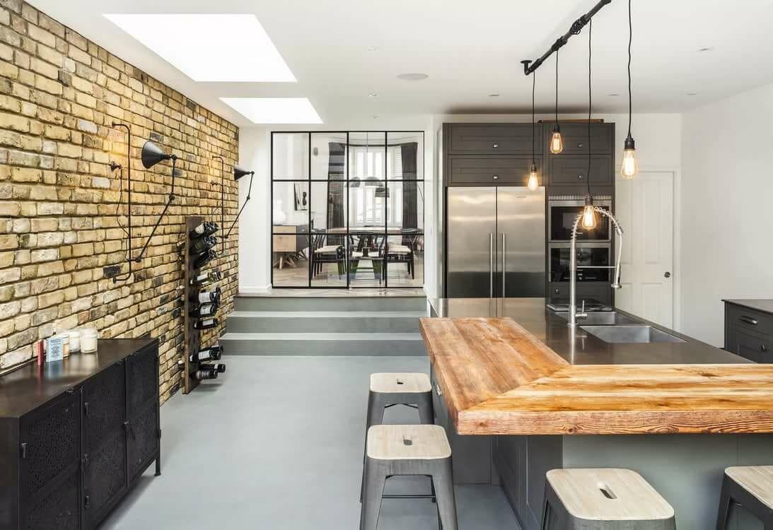 бетонная стяжка на кухонном полу