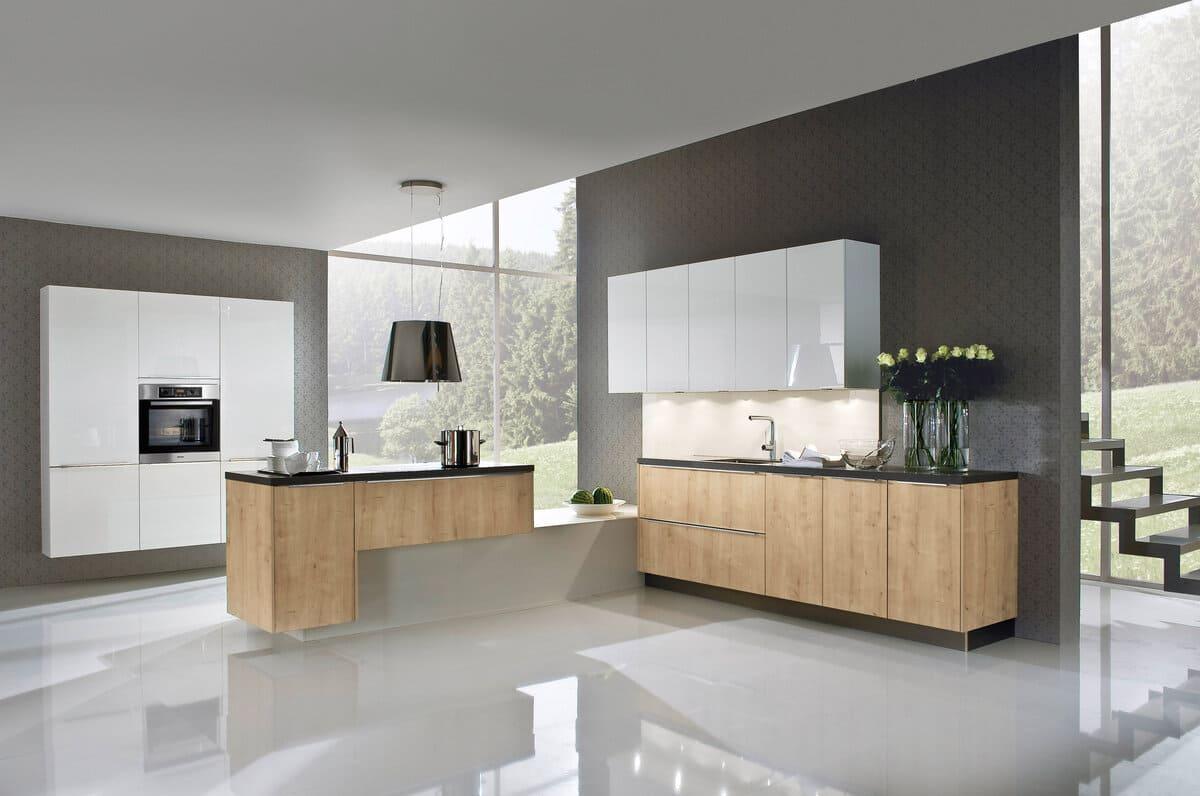 пол на кухне из полимера