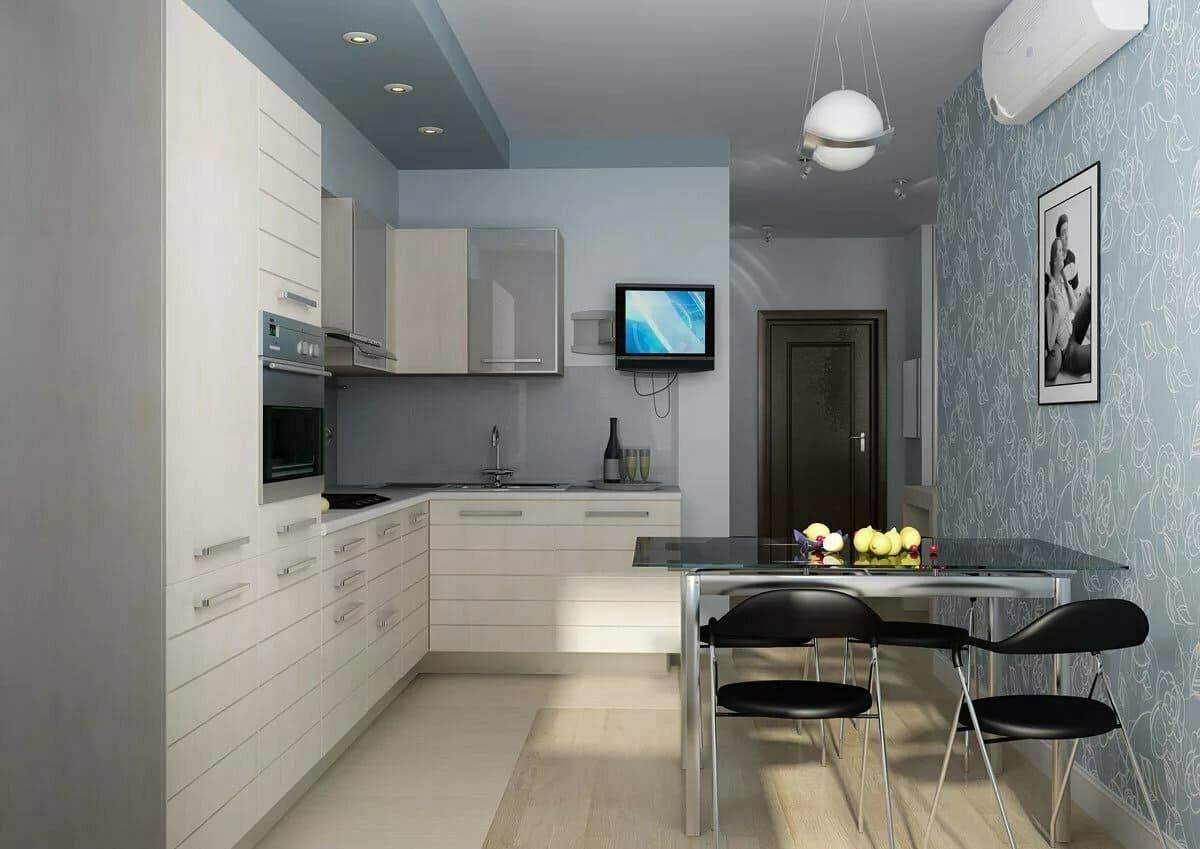 кухня 12 метров простой дизайн