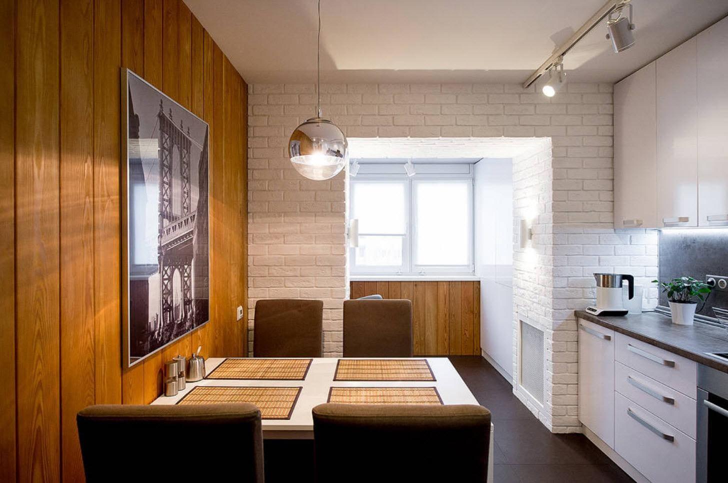 просторная кухня 12 метров