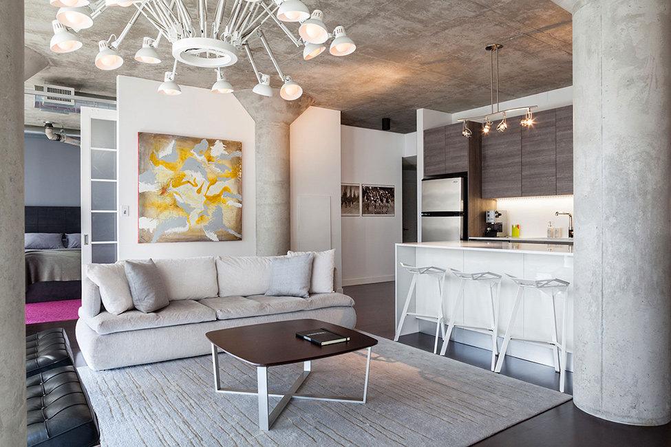 кухня гостиная 25 метров в стиле ар-деко
