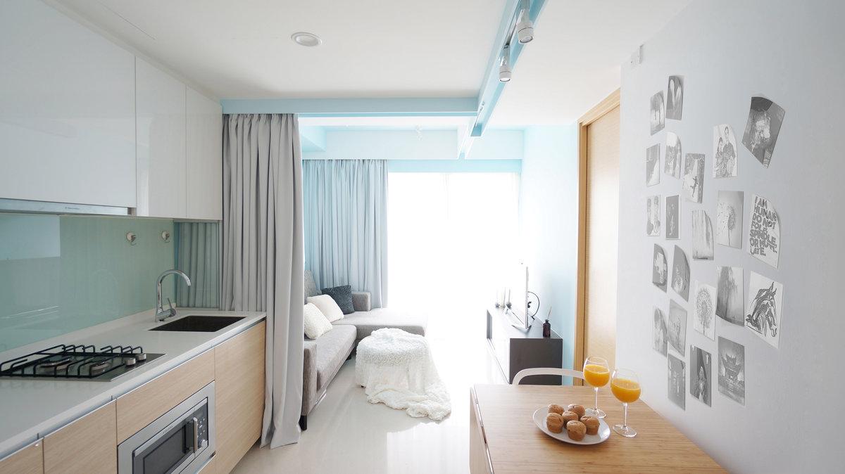шторы для зонирования кухни-гостиной 25 метров