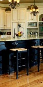 Паркетная доска на кухне фото 12