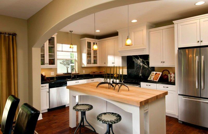 арка для кухни-студии