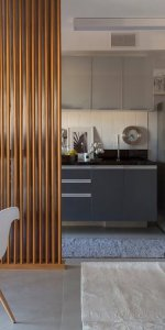 штора для кухни-студии