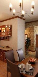 кухня-студия в загородном доме