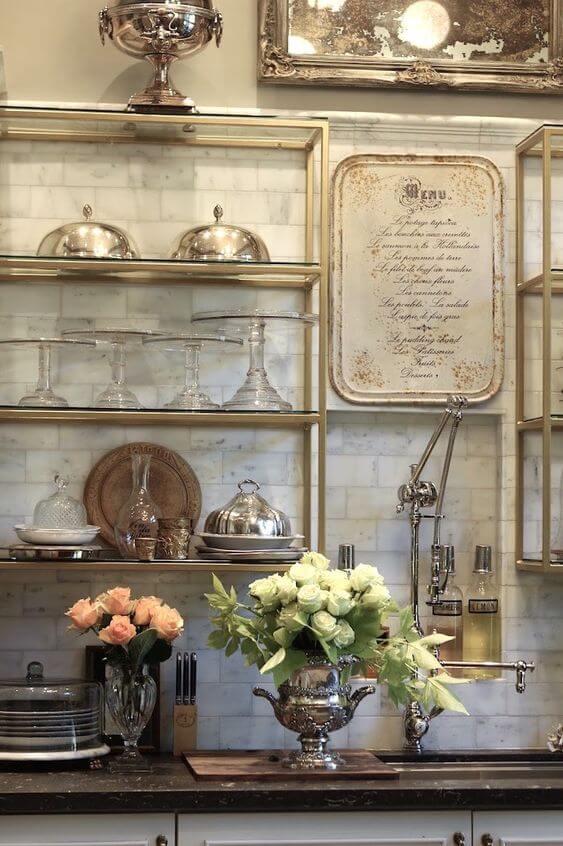 Элементы декора в кухне прованс