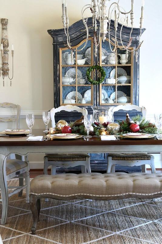 Оформление столовой в стиле прованс