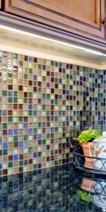 плитка мозаика в фартуке фото 4