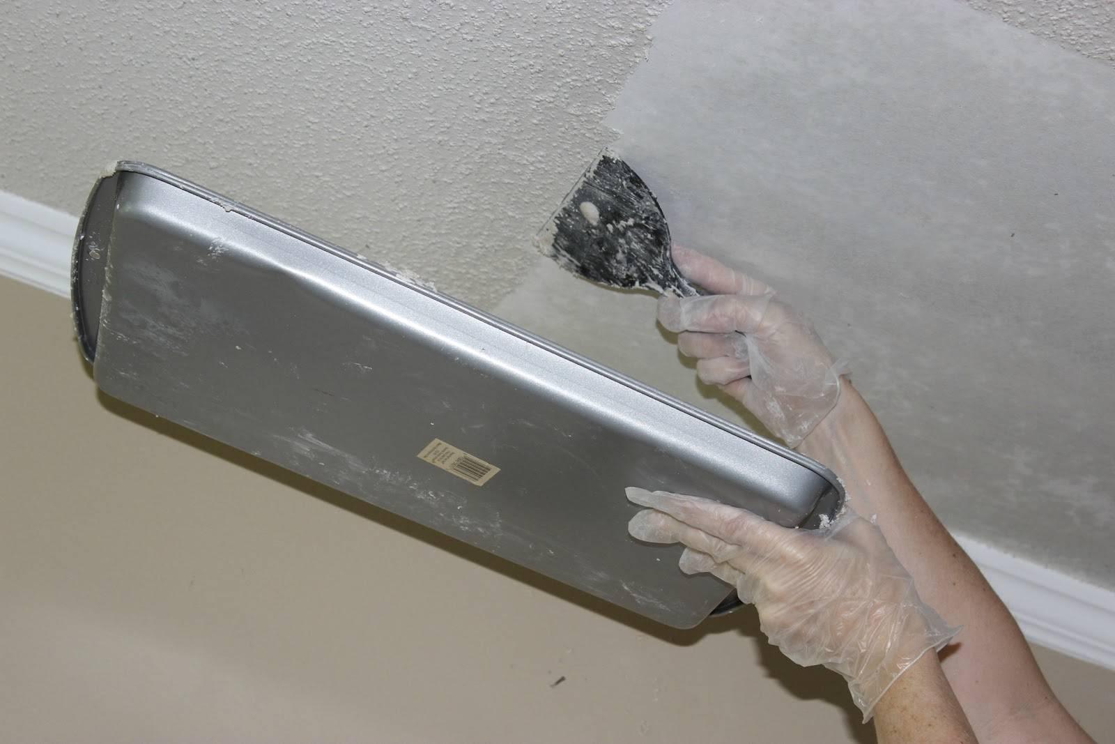 подготовка к ремонту потолка