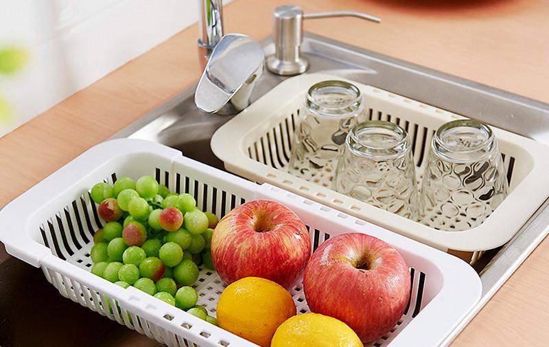 корзина для фруктов в раковине