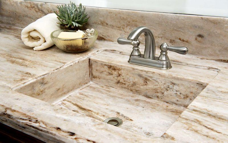 мойка на кухню из натурального камня