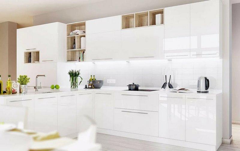 красивая кухня в стиле модерн