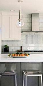 дизайн просторной и красивой кухни