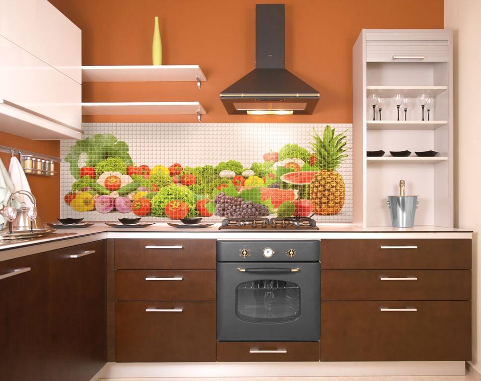 Панели для кухонного фартука фото