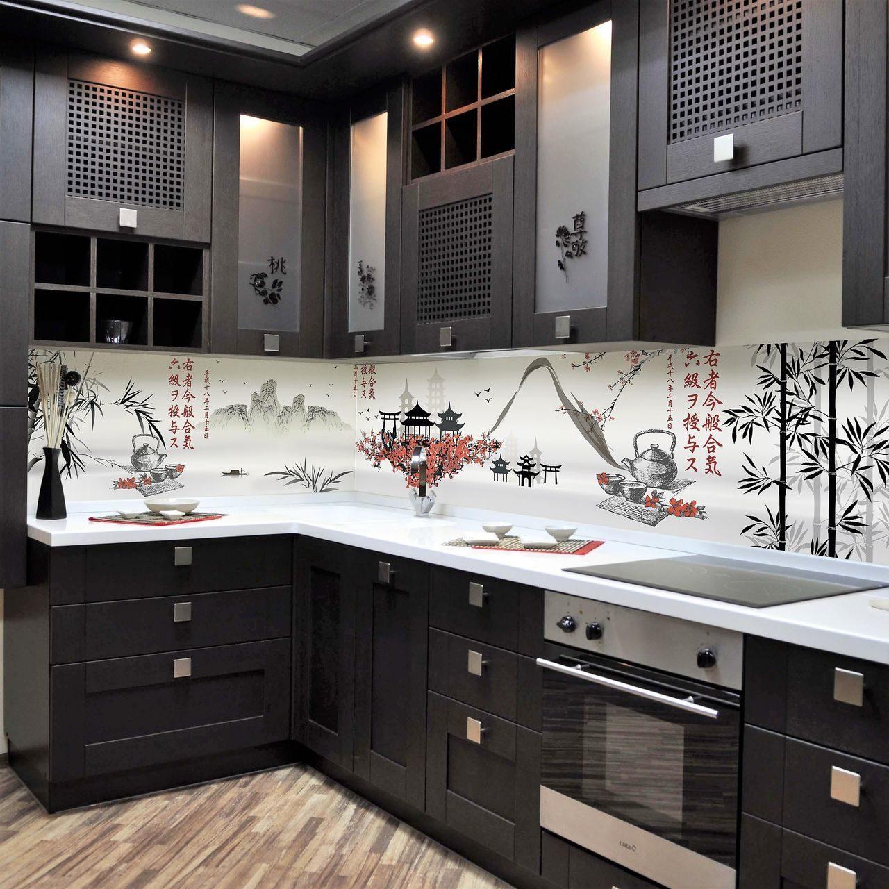 фартук для кухни с рисунком