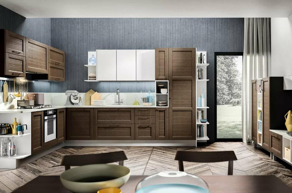 кухня мария для просторного помещения