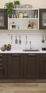 кухня мария из недорогих материалов