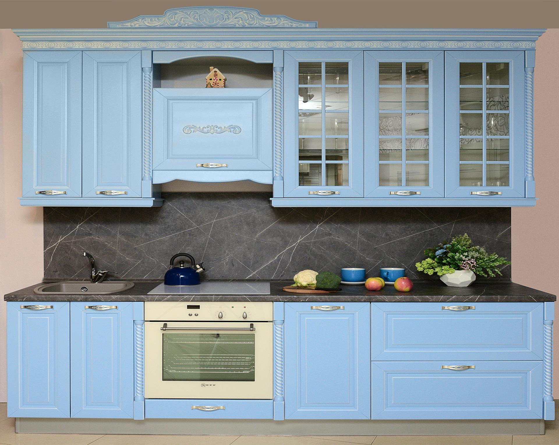 голубая кухня мария