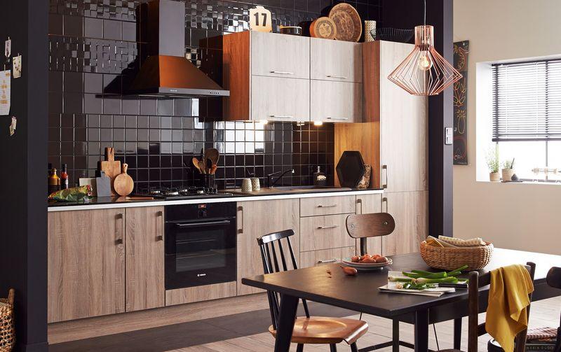 современный кухонный гарнитур леруа мерлен
