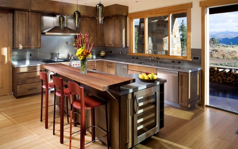 двухъярусная стойка на кухню