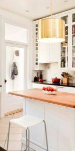 фото барной стойки на кухне