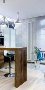 пример бара в студии на кухне