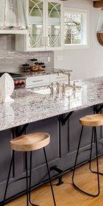 пример фото барной стойки на кухне