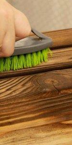 подготовительные работы для браширования дерева