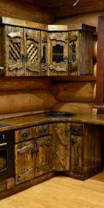 пример дизайна кухни под старину
