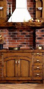 кухня под старину в стиле прованс