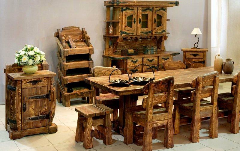 фото дизайна кухни под старину