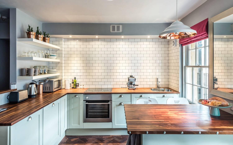 встроенная подсветка кухни