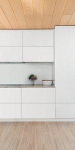 кухня с навесными модулями
