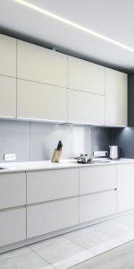 навесные модули вместо кухонных шкафов