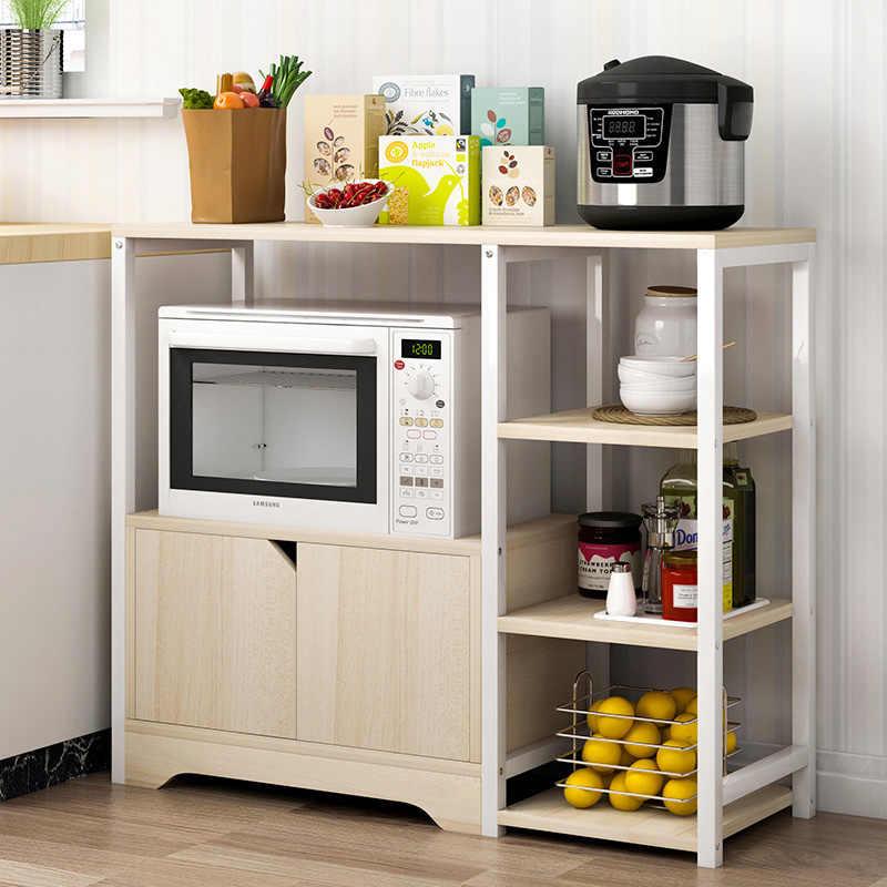 стеллаж со шкафчиком для кухни