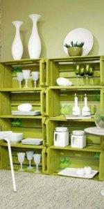 стеллаж-буфет для кухни
