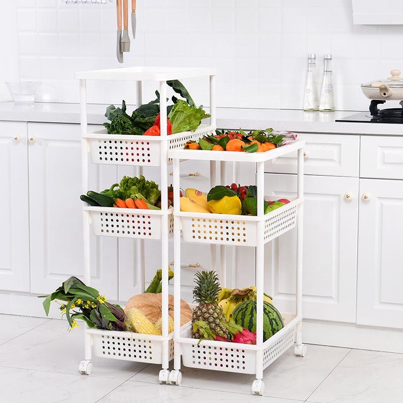 стеллаж-корзина для продуктов