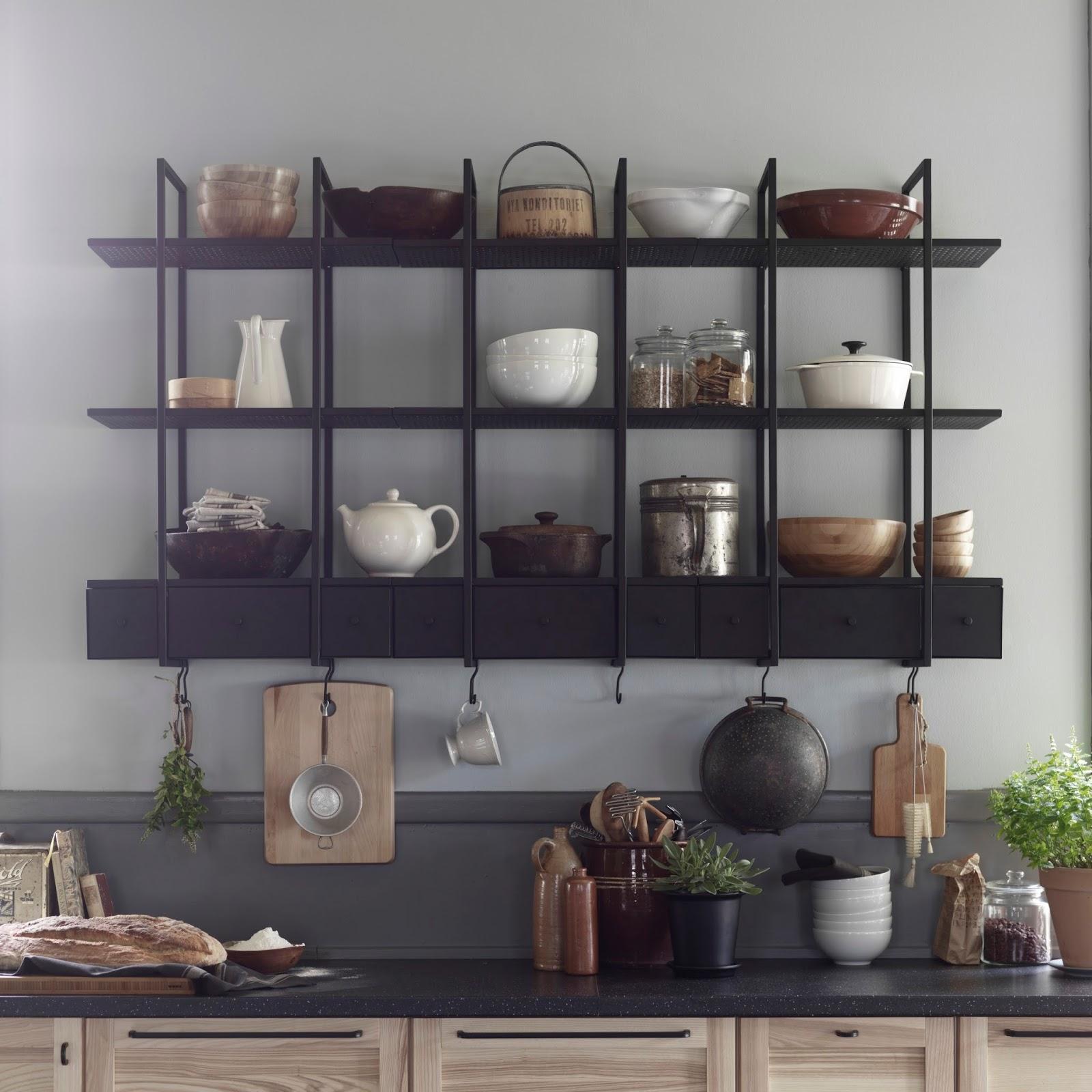 стеллаж для кухни своими руками