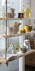 креативный стеллаж для кухни