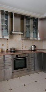 кухонные фасады из металла