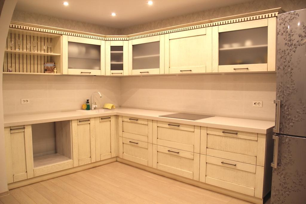 кухонные фасады из березы